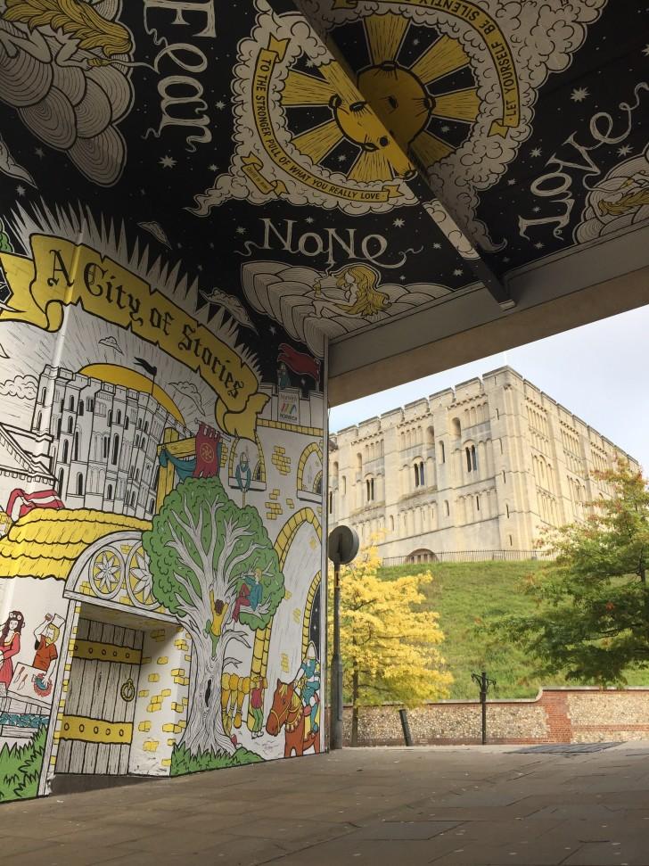 Castle Mural Joey